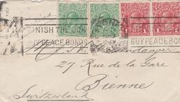 Australien-Sydne-Schweiz/Bienne 1919 - 1913-36 George V : Têtes