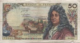 Billet De 50 Francs Racine 1973 - 1962-1997 ''Francs''