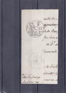 TIMBRE REPUBLIQUE FRANACAISE à 25c. Humide Et Sec Adm. De L'Enrg. Des Domaines Sur Papier Filigramé - Avant 1900 - Avoir - Steuermarken