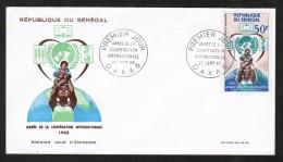 SENEGAL  Scott # C 42 ON FIRST DAY COVER  (25/SEPT/65) - Senegal (1960-...)
