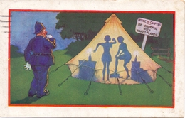 PK - Humor Humour - Policeman And Campers - Politie Aan Tent - Camping - Humor
