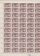 Algérie 1936 - N°110** Feuille Complète De 50 Timbres - CD - TB - Algérie (1924-1962)