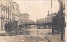 94 - Vitry-Sur-Seine - Carte Photo - Innondation - Vitry Sur Seine