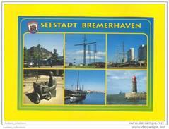 GERMANY ALLEMAGNE BREMERHAVEN SAILING SHIP SHIPS BOATS BOAT BATEAU BATEAUX LIGHTHOUSE PHARE - Bremerhaven