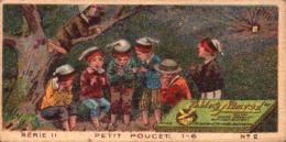 5 Chromos - Chocolat Tobler - Berne Suisse - Le Petit Poucet 1 2 3 5 6  - Bill-597 - R/V - Autres