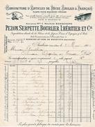 1903 - AMBOISE (37) - Manufacture D'Articles De PÊCHE ANGLAIS & FRANÇAIS.Maison Pezon, Serpette, Bourlier, L'Héritier & - Documents Historiques