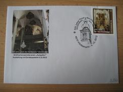 AUSTRIA 2013 - 3 Belege Mit Pers. Marken, Dom Des Vöcklatales - Personalisierte Briefmarken