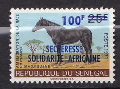 SENEGAL N° 394  NEUF**  PLI EN HAUT - Senegal (1960-...)
