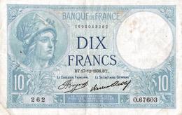 BANQUE DE FRANCE  10 FRANCS 1936 - 1871-1952 Antichi Franchi Circolanti Nel XX Secolo