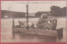 29 - ST MAURICE--( Environs Du Pouldu) La Traversée De La Laita---animé---beau Plan - France