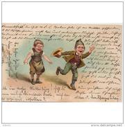 CMCTPA5702CPA-LFTMD2701TCFL.Tarjeta Postal Comicas.Humor.Niños.PERSONAJES DE CUENTO.CIRCULADA 1901.CCLD - Cuentos, Fabulas Y Leyendas
