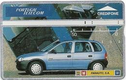 Portugal - PT - Farauto Azul Car - L&G, 11.1994, 50U, 411L - 7.200ex, Used