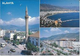 Turkey Via Sweden,POSTCARD WITH NEEDLE HOLE !!! Nice Stamp - Turchia