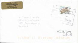 Canada Nice Little Cover Sent To Denmark 2011 Single Stamp  Polar Bear - 1952-.... Elizabeth II
