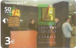 Portugal - PT - Loja Do Cidadão - PT337 - 50 Units, 4.000ex, 03.2002, Used