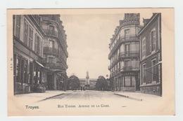 10 - TROYES / RUE THIERS AVENUE DE LA GARE - Troyes