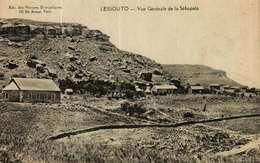 CPA -     Lesotho  -     LESSOUTO  -  Vue Générale De La Sébapala - Lesotho
