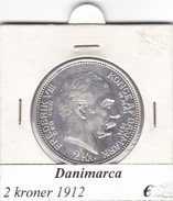 DANIMARCA   2  KRONER  1912  COME DA FOTO - Danimarca