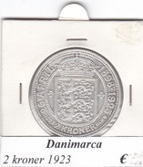 DANIMARCA   2  KRONER  1923  COME DA FOTO - Danimarca