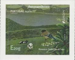 "AZORES  // PORTUGAL AÇORES - (2015)  -EUROPA  2011 -TEMA "" AÇORES Y SUS BOSQUES ""- SELLO ADHESIVO - Europa-CEPT"