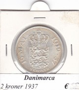 DANIMARCA   2  KRONER  1937  COME DA FOTO - Danimarca
