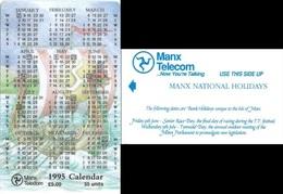 Isle Of Man - 1995 Calendar Manx National Holidays - Specimen/Proof (No Chip No Serial)