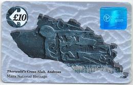 Isle Of Man - Thorwald's Cross -  Specimen/Proof (GPT Magnetic No Serial) - Man (Eiland)