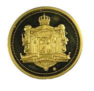 Willeme II - Allemagne - Glorieux Et Brillant - Monument Allemand - 30mm - 12,59 Gr. - Dorée - Sup - - Royal/Of Nobility