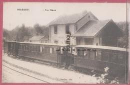 58 - BRASSY--La Gare---Beau Plan-- - France