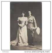 PERTP1714CPA-LFTMD4521TMATR.Tarjeta Postal Personajes.REYES DE ESPAÑA.Alfonso Xlll Y Victoria Eugenia.1906.CCLD - Matrimonios