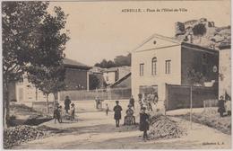 CPA - Aureille (13) - Place De L'Hotel De Ville - Autres Communes