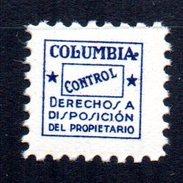 Sello De Columbia San Sebastian. - España