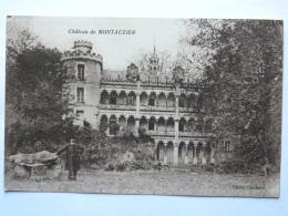 CPA (16) Charente - Baignes Environs De Barbezieux - Château De Montauzier - France