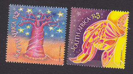 South Africa, Scott #1265-1269, Mint Hinged, Christmas, Issued 2001 - South Africa (1961-...)