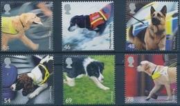 2008 - GRAN BRETAGNA / GREAT BRITAIN - CANI AL LAVORO / WORKING DOGS - EUROPA CEPT. MNH - Unused Stamps