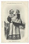 CPA - CHATEAULIN, LES COIFFES BRETONNES - Finistere 29 - Circulé 1914 - Cliché J. M. Le Doaré - Europe