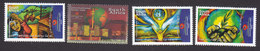 South Africa, Scott #1277-1280, Mint Hinged, Food Security, Issued 2002 - South Africa (1961-...)