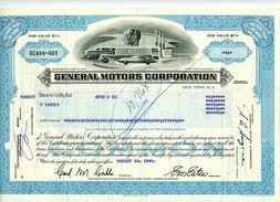 GENERAL MOTORS CORPORATION De 1980 - Cars