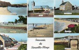 CPSM Dentelée - SIOUVILLE (44) - Carte Multi-Vues Des Années 50 - Francia