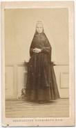 Photo Cdv Bernadette Soubirous Photographe Viron Lourdes Ca1870 - Old (before 1900)