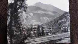 CPSM BOURG SAINT MAURICE SAVOIE VIADUC DES RAVES LE COMBOTTIER LE CLAPEY ET BELLEFACE 1953 - Bourg Saint Maurice