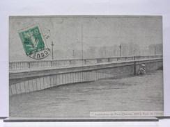 PARIS - CRUE INONDATION DE 1910 - LOT DE 7 CPA - De Overstroming Van 1910