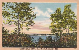 Maine Greetings From Kennebunkport