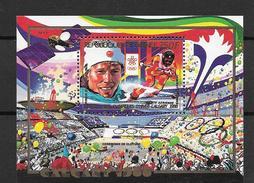 Guinée Bloc Vainqueur JO H88 **