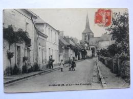 CPA (49) Maine Et Loire - SERMAISE - Rue Principale - Other Municipalities