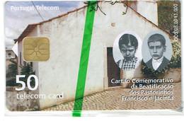 PHONECARDS-- PORTUGAL-CHIP--50U --BEATIFICAÇÃO DOS PASTORINHOS-- MINT WITH BLISTER-- - Portugal