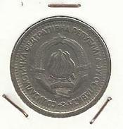 Yugoslavia_1965_1 Dinar - Yugoslavia
