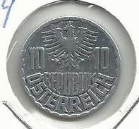 Austria_1959_10 Groschen - Austria