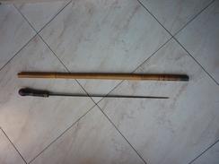 Canne à épée Du XIXéme Siècle - Fût En Bambou - Other
