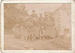 PHOTO PONTS DE CE MAINE ET LOIRE 1904 SOUVENIR DES VENDANGES VINS D' ANJOU LOUIS JOUBERT LEGUY - Photos